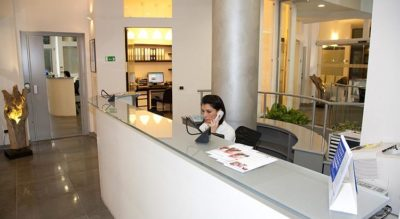 Reception, Studio dentistico Abaco Monza