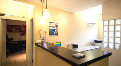 Reception, Centro Odontoiatrico Anzolamedika