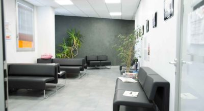 Sala d'attesa, Studio Odontoiatrico Tondelli Malaguti