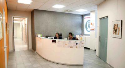 Dipendenti alla reception, Studio Odontoiatrico Tondelli Malaguti