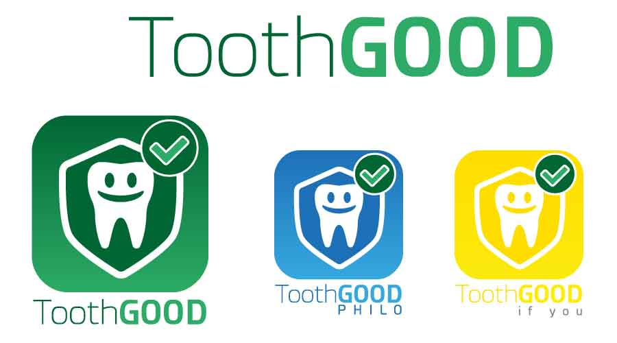 Illustrazione ToothGood: ToothGood, ToothGood Philo, ToothGood if you.